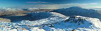 Beinn a Chrulaiste and Blackwater Reservoir from Stob Mhic Mhartuin, Glencoe, Highland<br /> <br /> Copyright www.scottishhorizons.co.uk/Keith Fergus 2011 All Rights Reserved