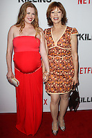 HOLLYWOOD, LOS ANGELES, CA, USA - JULY 14: Mireille Enos, Frances Fisher at the Los Angeles Premiere Of Netflix's 'The Killing' Season 4 held at ArcLight Cinemas on July 14, 2014 in Hollywood, Los Angeles, California, United States. (Photo by Celebrity Monitor)