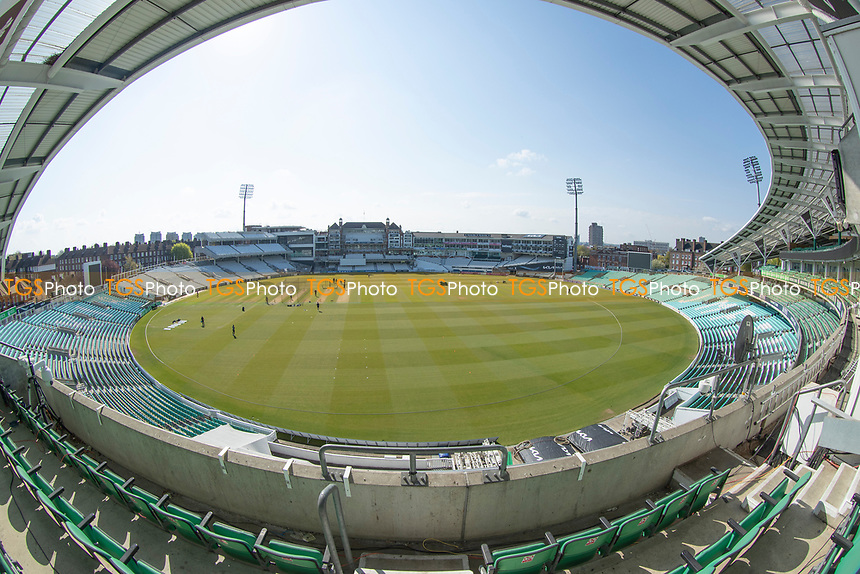 A bright Oval Morning during Surrey CCC vs Hampshire CCC, LV Insurance County Championship Group 2 Cricket at the Kia Oval on 1st May 2021