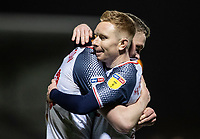 Bolton Wanderers' Ethan Hamilton (left) celebrates scoring his side's second goal with team mate Ali Crawford <br /> <br /> Photographer Andrew Kearns/CameraSport<br /> <br /> The Premier League - Leicester City v Aston Villa - Monday 9th March 2020 - King Power Stadium - Leicester<br /> <br /> World Copyright © 2020 CameraSport. All rights reserved. 43 Linden Ave. Countesthorpe. Leicester. England. LE8 5PG - Tel: +44 (0) 116 277 4147 - admin@camerasport.com - www.camerasport.com