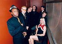 Jan 1999 File Photo<br /> <br /> Montreal Ska group ; The Kingpins pose for a photo<br /> <br /> (Photo by Pierre Roussel - Images Distribution)<br /> ON SPEC<br /> NOTE : scan