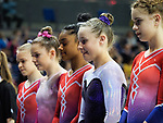 British Championships 2017. Junior Women All Around Competition 24.3.17