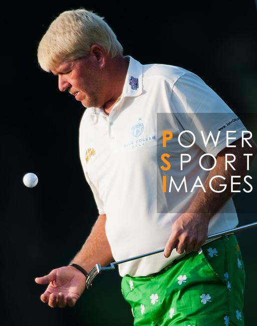 Jon Daly in action during Round 2 of the UBS Hong Kong Golf Open 2011 at Fanling Golf Course in Hong Kong on 2 December 2011. Photo © Victor Fraile / The Power of Sport Images