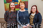 Marcella and Margaret Murphy and Aylish Lyons attending the Women's Christmas lunch in the Ballyroe Heights Hotel on Sunday.