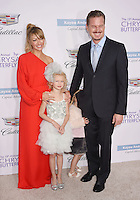 BRENTWOOD, CA - JUNE 11: Actress Rebecca Gayheart-Dane, actor Eric Dane and their daughters Georgia Dane and Billie Beatrice Dane arrive at the 15th Annual Chrysalis Butterfly Ball at a private residence on June 11, 2016 in Brentwood, California.