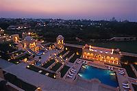 Hotel Amarvilas, Blick auf Taj Mahal, Agra, Uttar Pradesh, Indien, Unesco-Weltkulturerbe