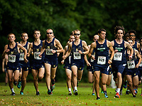 09/02/17: Photography of the Navy men's cross country team running at the Salisbury Fall Classic Saturday morning September 2, 2017, at WinterPlace Park in Salisbury, Maryland.<br /> <br /> Charlotte Photographer - PatrickSchneiderPhoto.com