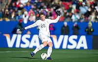 Frisco, Texas - February 11, 2012: The USWNT defeated New Zealand 2-0 at Pizza Hut Park.