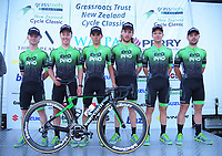 Evo Pro Racing (Ireland). 2019 Grassroots Trust NZ Cycle Classic UCI 2.2 Tour at St Peter's School in Cambridge, New Zealand on Tuesday, 22 January 2019. Photo: Dave Lintott / lintottphoto.co.nz