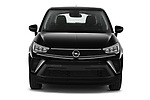 Car photography straight front view of a 2021 Opel Crossland Edition 5 Door SUV Front View