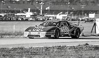 #67 Ferrari 512 of Bob Tullius, Patrick Bedard, and Jean-Pierre Delaunay, 57th place, 24 Hours of Daytona, Daytona International Speedway, Daytona Beach, FL, February 1979. (Photo by Brian Cleary/bcpix.com)