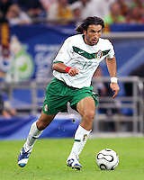 Jose Fonseca (17) of Mexico. Portugal defeated Mexico 2-1 in their FIFA World Cup Group D match at FIFA World Cup Stadium, Gelsenkirchen, Germany, June 21, 2006.