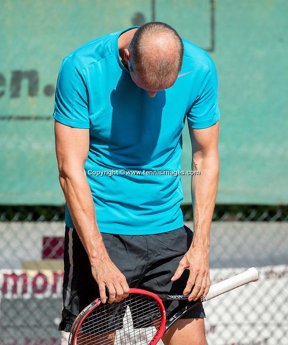 Etten-Leur, The Netherlands, August 27, 2017,  TC Etten, NVK, David Hofman (NED)<br /> Photo: Tennisimages/Henk Koster