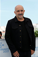 """CANNES, FRANCE - JULY 17: Gaspar Noe at the """"Vortex"""" photocall during the 74th annual Cannes Film Festival on July 17, 2021 in Cannes, France. <br /> CAP/GOL<br /> ©GOL/Capital Pictures"""