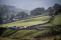 breakaway group up the Kidstones Climb<br /> <br /> Elite Men Road Race from Leeds to Harrogate (shortened to 262km)<br /> 2019 UCI Road World Championships Yorkshire (GBR)<br /> <br /> ©kramon