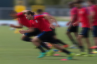 Jacksonville, FL - August 30, 2016: The U.S. Men's National Team train ahead of its World Cup Qualifying (WCQ) match versus St. Vincent and the Grenadines at UNF Hodges Stadium.