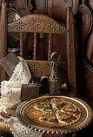 """Europe/France/Auvergne/63/Puy-de-Dôme/Clermont-Ferrand: Pudding auvergnat parfumé aux fruits confits clermontois - recette de Michel Mioche de l'hôtel-restaurant """"l'Hôtel Radio"""""""