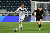 Chester, PA - Friday December 08, 2017: Marcel Zajac The Stanford Cardinal defeated the Akron Zips 2-0 during an NCAA Men's College Cup semifinal match at Talen Energy Stadium.