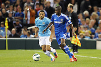 Ramires (7) Chelsea in action..Manchester City defeated Chelsea 4-3 in an international friendly at Busch Stadium, St Louis, Missouri.