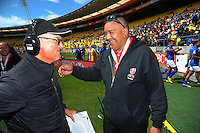 Day two of the 2017 HSBC World Sevens Series Wellington at Westpac Stadium in Wellington, New Zealand on Sunday, 29 January 2017. Photo: Dave Lintott / lintottphoto.co.nz