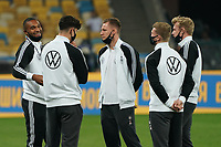 Jonathan Tah (Deutschland Germany), Kai Havertz (Deutschland, Germany), Torwart Bernd Leno (Deutschland Germany), Timo Werner (Deutschland Germany), Julian Brandt (Deutschland Germany) - 10.10.2020: Ukraine vs. Deutschland, UEFA Nations League, 3. Spieltag, Olympiastadion Kiew <br /> DISCLAIMER: DFB regulations prohibit any use of photographs as image sequences and/or quasi-video.