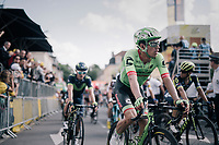 Rigoberto Uran (COL/Cannondale-Drapac) finishing 19th<br /> <br /> 104th Tour de France 2017<br /> Stage 3 - Verviers › Longwy (202km)