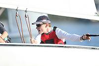 23 October 2007: Erik Storck during sailing practice in Redwood Shores, CA.
