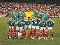 Mexico Starting Eleven. The USWNT defeated Mexico 7-0 during an international friendly, at RFK Stadium, Tuesday September 3, 2013.