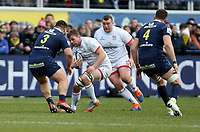 11 January 2020; Ulster's Jordi Murphy in action against during the Heineken Champions Cup Pool 3 Round 5 match between ASM Clermont Auvergne and Ulster at Stade Marcel-Michelin in Clermont-Ferrand, France. Photo by John Dickson/DICKSONDIGITAL