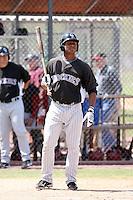 Orlando Sandoval, Colorado Rockies 2010 minor league spring training..Photo by:  Bill Mitchell/Four Seam Images.