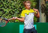 Hilversum, Netherlands, August 6, 2018, National Junior Championships, NJK, Nick van den Heuvel (NED)<br /> Photo: Tennisimages/Henk Koster