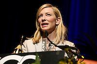 SANTA BARBARA, CA - FEBRUARY 01: Cate Blanchett inside during the 29th Santa Barbara International Film Festival - Outstanding Performer of the Year Award Honoring Cate Blanchett held at Arlington Theatre on February 1, 2014 in Santa Barbara, California. (Photo by Xavier Collin/Celebrity Monitor)