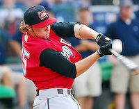 Lee Mitchell of the Carolina Mudcats at the 2007 Southern League All-Star Game July 9, 2007, at Trustmark Park, sponsored by the Mississippi Braves, in Pearl, Miss. Photo by:  Tom Priddy/Four Seam Images