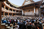 United Kingdom, London: Shakespeare's Globe Theatre on London's South Bank | Grossbritannien, England, London: Shakespeare's Globe Theatre am Suedufer der Themse
