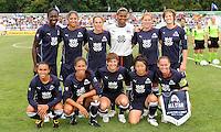 WPS All-Star Team.WPS All-Star Team defeated Umea IK (Sweden) 4-2, at Anhueser Busch Soccer Park, Fenton, MO.