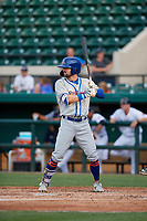 St. Lucie Mets Quinn Brodey (1) during a Florida State League game against the Lakeland Flying Tigers on April 24, 2019 at Publix Field at Joker Marchant Stadium in Lakeland, Florida.  Lakeland defeated St. Lucie 10-4.  (Mike Janes/Four Seam Images)