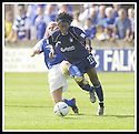 23/08/2003                   Copyright Pic : James Stewart.File Name : stewart-falkirk v qots 12.RUSSELL LATAPY IS BROUGHT DOWN BY STEVEN BOWIE....James Stewart Photo Agency, 19 Carronlea Drive, Falkirk. FK2 8DN      Vat Reg No. 607 6932 25.Office     : +44 (0)1324 570906     .Mobile  : +44 (0)7721 416997.Fax         :  +44 (0)1324 570906.E-mail  :  jim@jspa.co.uk.If you require further information then contact Jim Stewart on any of the numbers above.........