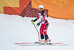 Mollie Jepsen, PyeongChang 2018 - Para Alpine Skiing // Ski para-alpin.<br /> Mollie Jepsen skis to the bronze in the women's standing downhill // Mollie Jepsen skis au bronze en descente debout femmes. 10/03/2018.