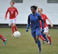 Switzerland U19 - France U19 : Aminata Diallo.foto DAVID CATRY / Nikonpro.be