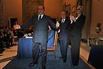 SILVIO BERLUSCONI CON GIANNI LETTA E ROMANA LIUZZI<br /> PREMIO GUIDO CARLI - TERZA  EDIZIONE<br /> PALAZZO DI MONTECITORIO - SALA DELLA LUPA<br /> CON RICEVIMENTO  HOTEL MAJESTIC   ROMA 2012