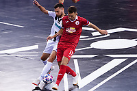 9th October 2020; Palau Blaugrana, Barcelona, Catalonia, Spain; UEFA Futsal Champions League Finals; Mrucia FS versus MFK Tyumen;   Marcel and Gereykhanov challenge for the ball