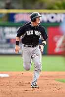 New York Yankees infielder Stephen Drew (14) during a Spring Training game against the Philadelphia Phillies on March 27, 2015 at Bright House Field in Clearwater, Florida.  New York defeated Philadelphia 10-0.  (Mike Janes/Four Seam Images)