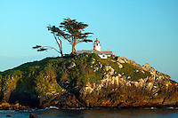 Battery Point Lighthouse, Crescent City, California.