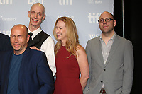 DOUG JONES, SCREENWRITER VANESSA TAYLOR AND PRODUCER MILES DALE - PHOTOCALL OF THE FILM 'THE SHAPE OF WATER' - 42ND TORONTO INTERNATIONAL FILM FESTIVAL 2017