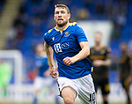 St Johnstone v Motherwell…08.08.21  McDiarmid Park<br />David Wotherspoon<br />Picture by Graeme Hart.<br />Copyright Perthshire Picture Agency<br />Tel: 01738 623350  Mobile: 07990 594431