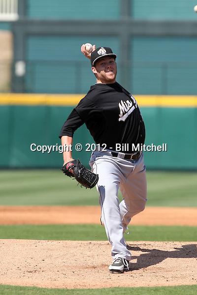 Andrew Werner - 2012 San Antonio Missions (Bill Mitchell)