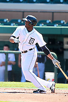 Detroit Tigers Audy Ciriaco (97) during a game vs. the Washington Nationals in an Instructional League game at Joker Marchant Stadium in Lakeland, Florida;  October 1, 2010.   Photo By Mike Janes/Four Seam Images
