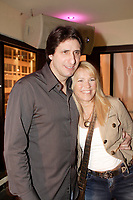 Tony Conte (L) and Josee Lavigeur (R)<br /> Official Opening of Pinokkio Club on De Maisonneuve and Crescent in downtown Montreal.<br /> <br /> Ouverture Officielle du Club Pinokkio, 1320 de Maisonneuve Ouest, pres de la rue Crescent.<br /> <br /> photo :  Images Distribution