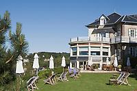 """Europe/France/Normandie/Haute-Normandie/76/Seine-Maritime/ Etretat: Hôtel-Restaurant """"Dormy House"""" le parc"""