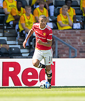 18th July 2021; Pride Park, Derby, East Midlands; Pre Season Friendly Football, Derby County versus Manchester United;  Mason Greenwood of Manchester United